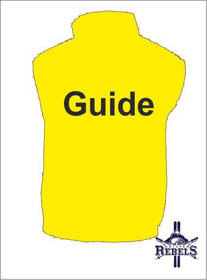 Guide Hi Vis Yellow Back