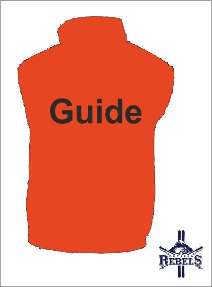 Guide Hi Viz Orange Back