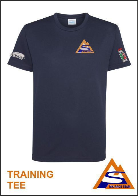Training Tee Navy Front