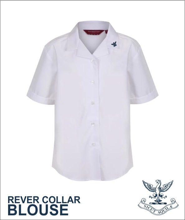 Rever Collar Blouse