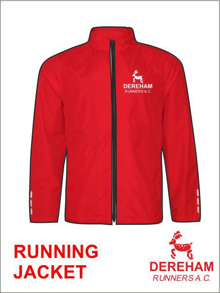 Running Jacket Front