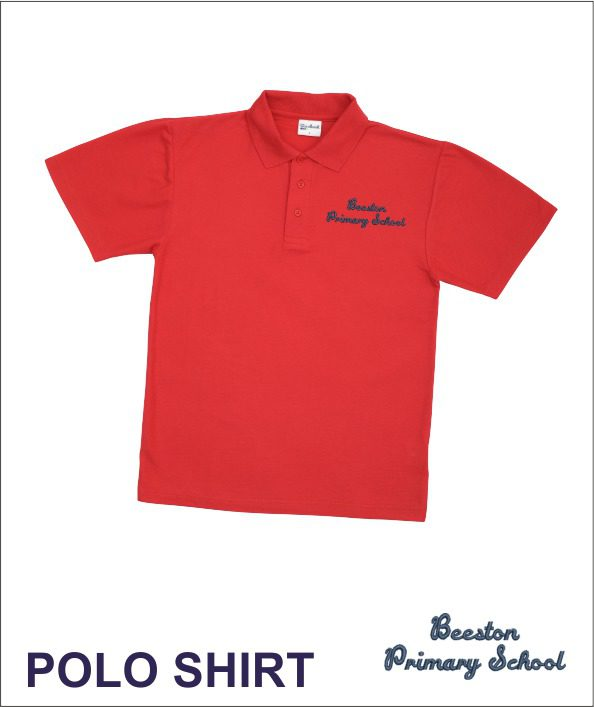 Beeston Primary Red Polo