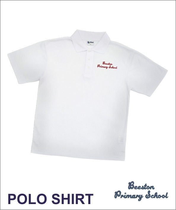 Beeston Primary White Polo
