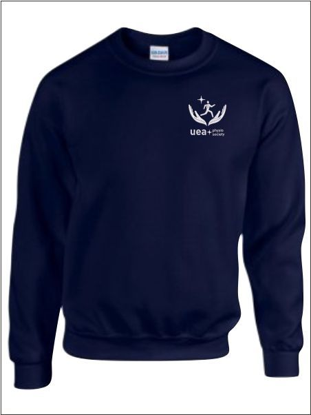 Uea Physio Society Sweatshirt Emb Only