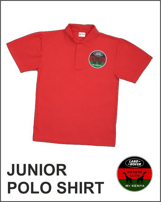 Junior Polo Red