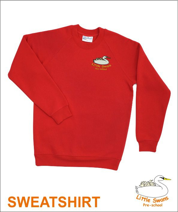 Sweatshirt Red