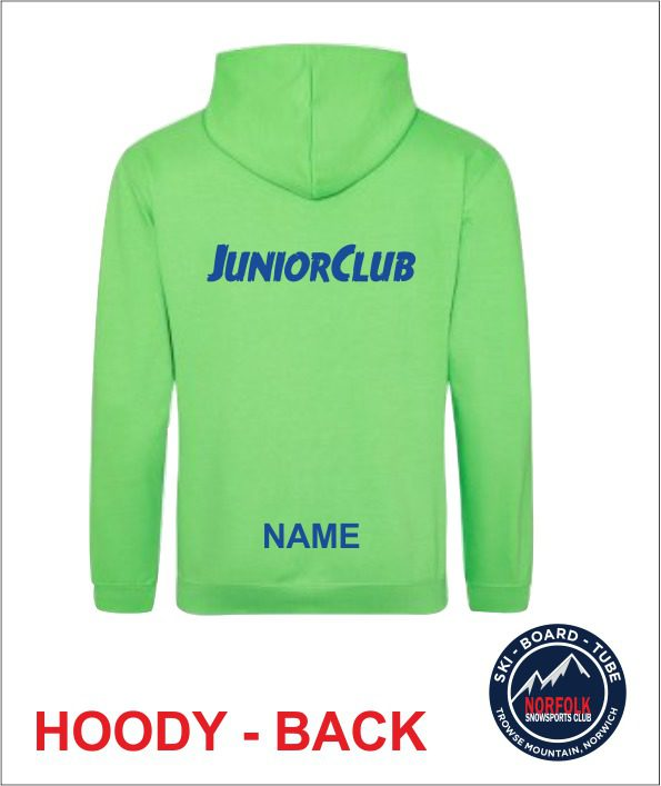 Junior Hoody Green Back