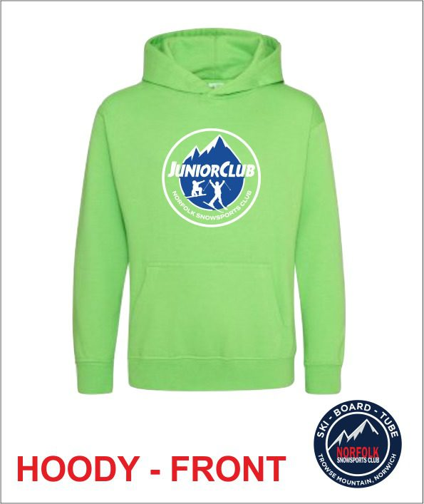 Junior Hoody Green Front