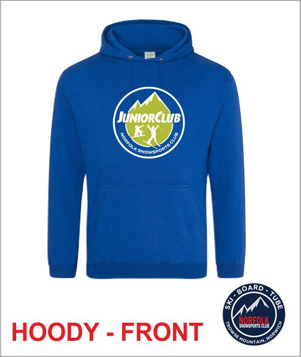 Junior Hoody Royal Front