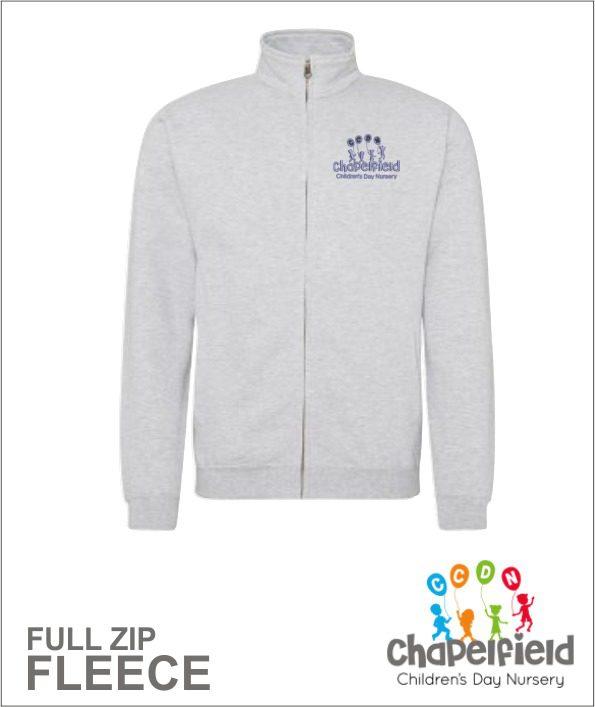 Full Zip Grey