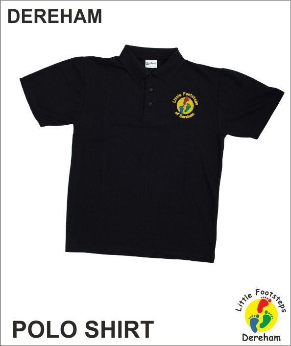 Staff Polo - Black