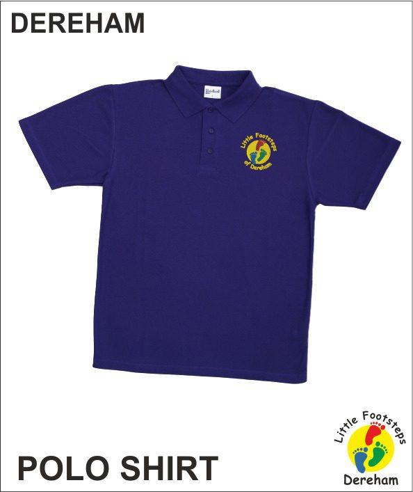 Staff Polo - Purple