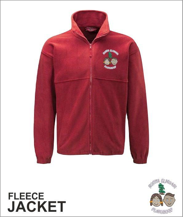 Fleece Jacket - Red
