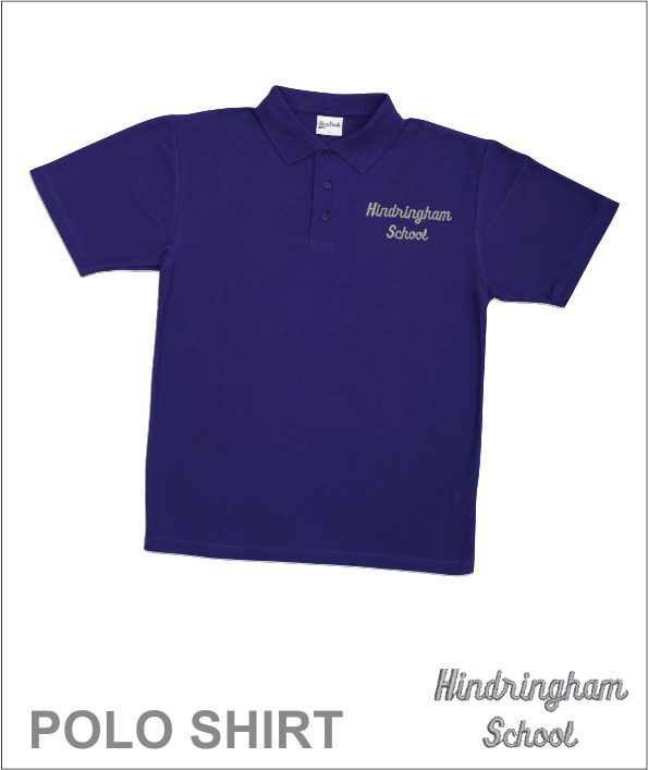 Polo Shirt Purple