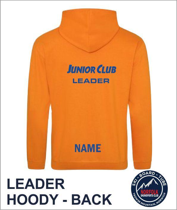 Junior Club Leader Hoody Back