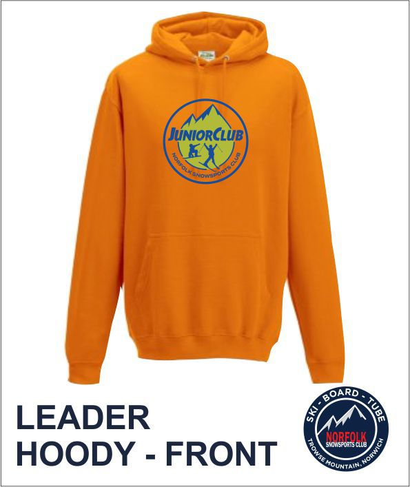 Junior Club Leader Hoody Front