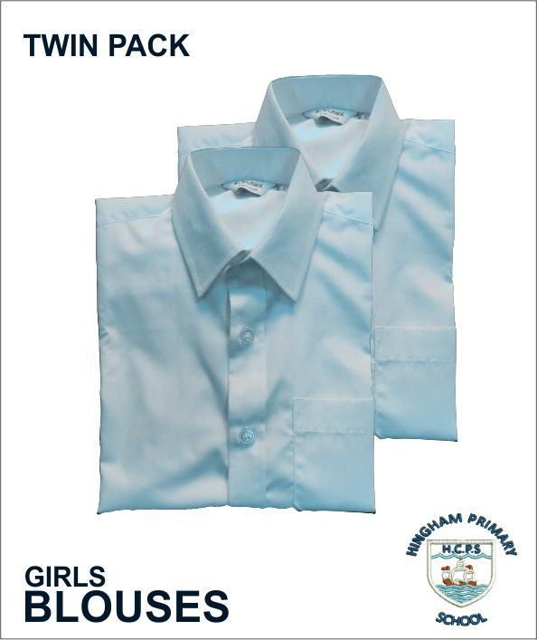Girls Blouse - Sky