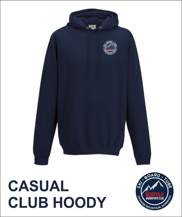 Casual Club Hoody Front