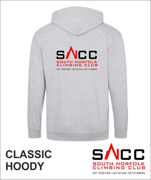 Hoody Grey Back