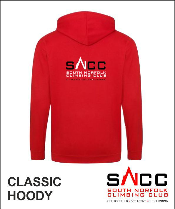 Hoody Red Back