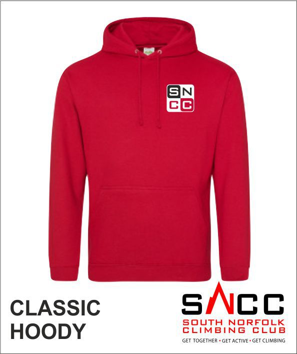 Hoody Red Frot
