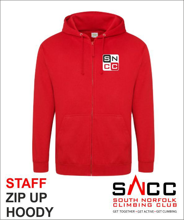 Staff Zip Up Hoody Front