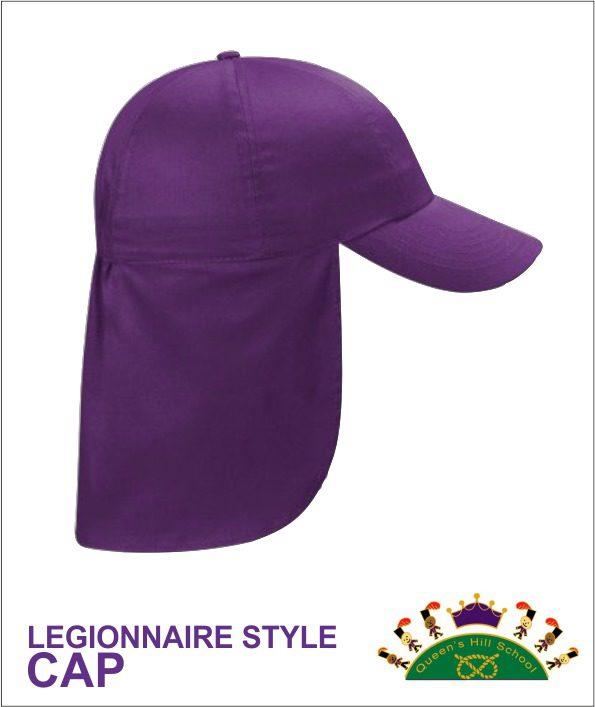 Legionnaire style cap