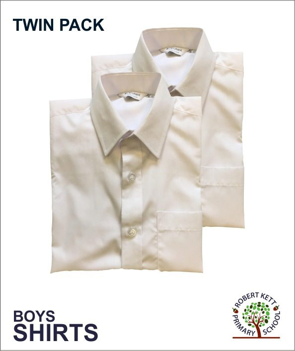 Boys Shirts - White