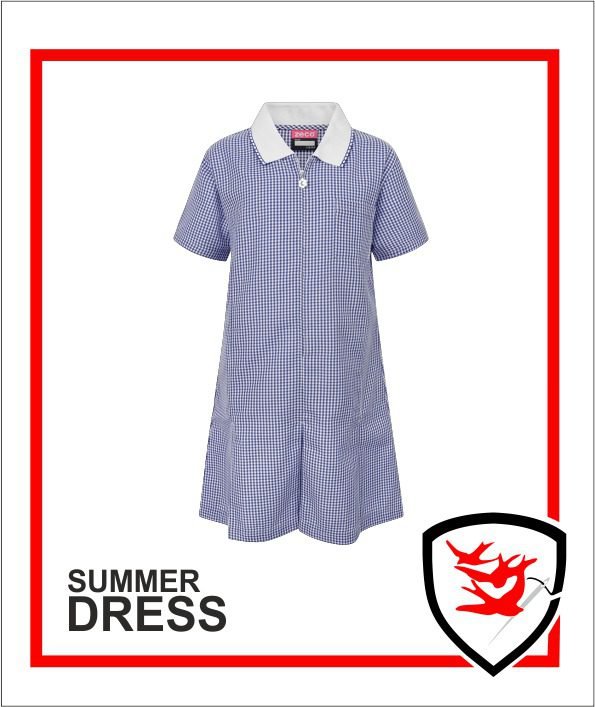 Summer Dress - Navy