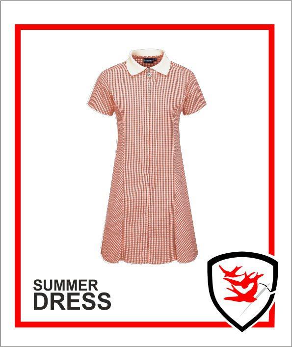 Summer Dress - Red