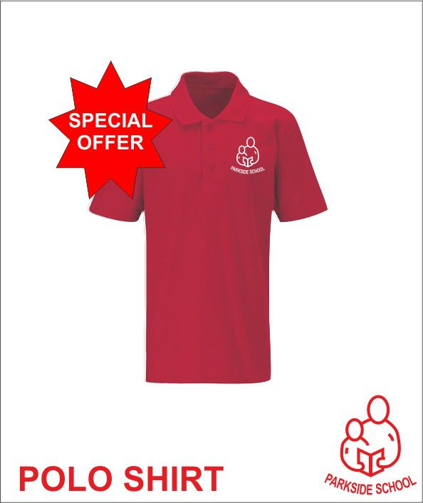 Clearance Polo - Red