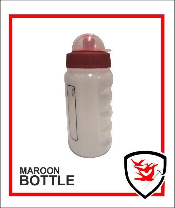 Maroon Bottle