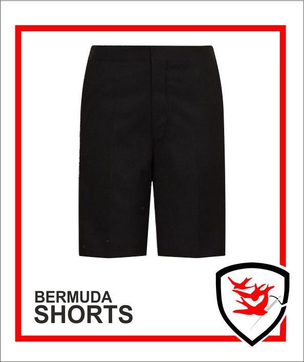 Bermuda Shorts - Black