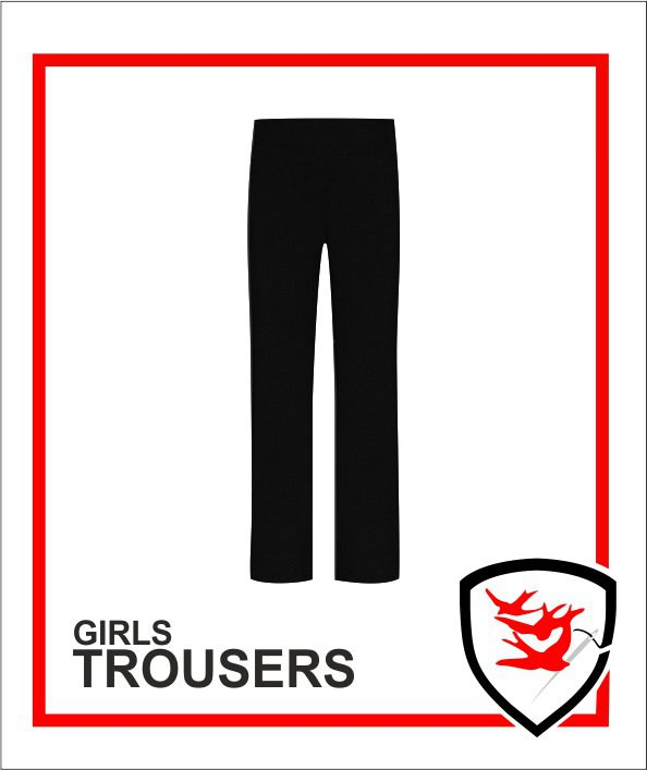 Girls Trousers - Black