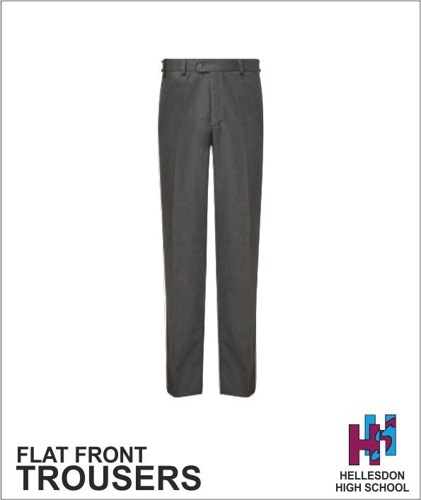 Flat Front Trousers