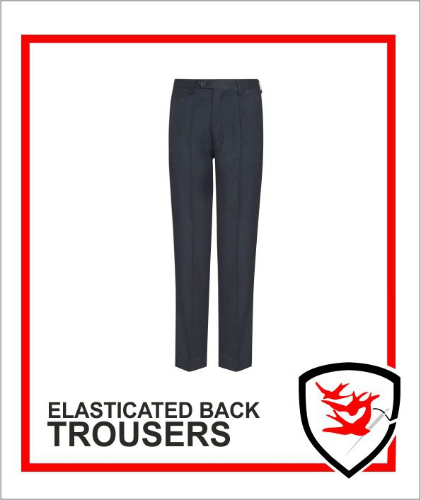 Elasticated Back Trousers