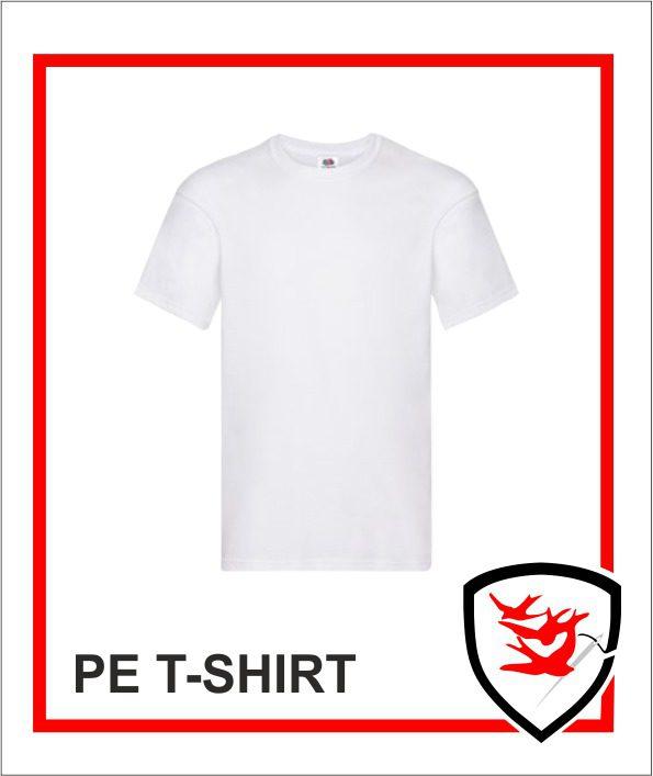 White PE Tshirt