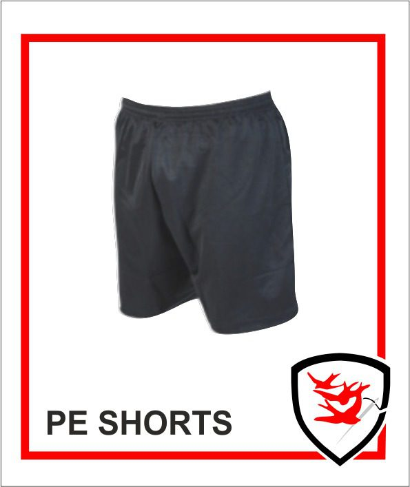 PE Shorts - Black