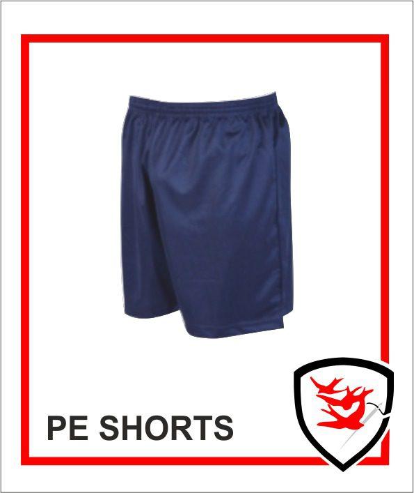 PE Shorts - Navy