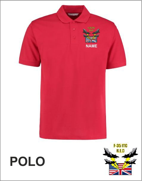 F 35 Itc Polo Red