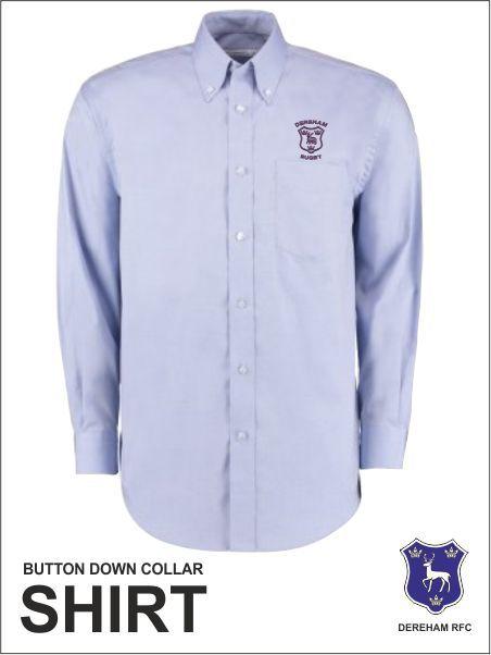 Bd Collar Shirt Purple Crest