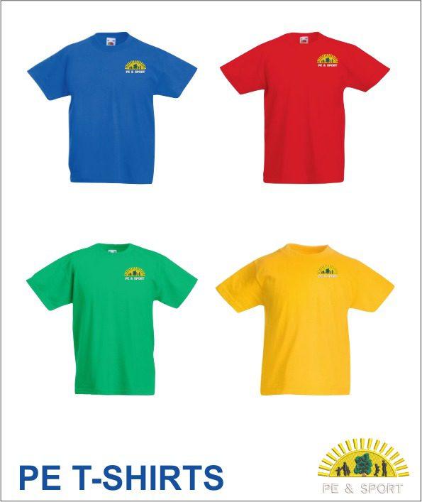 Watton Junior PE T-Shirts
