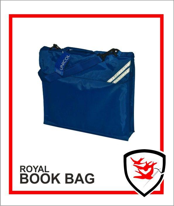Expandable Book Bag Royal