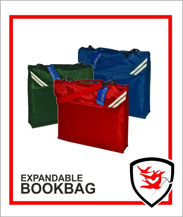Expandable Book Bag