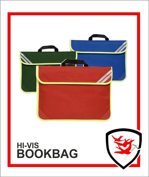 Hi Vis Book Bags