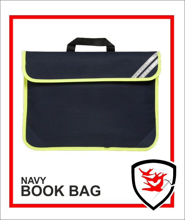 Hi Vis Book Bag Navy
