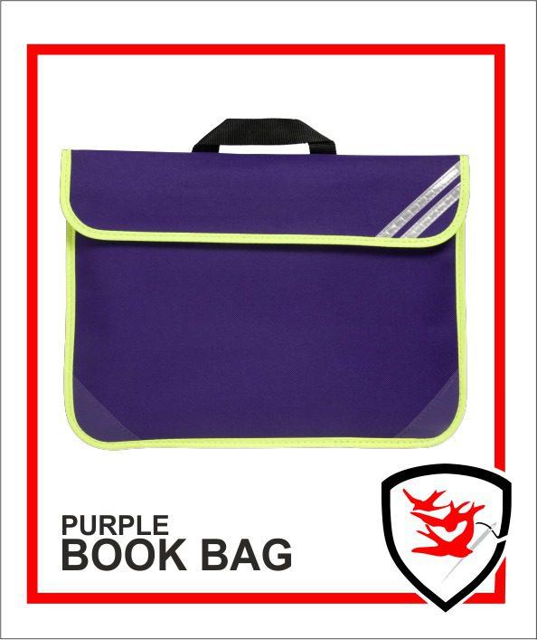 Hi Vis Book Bag Purple