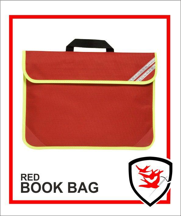 Hi Vis Book Bag Red