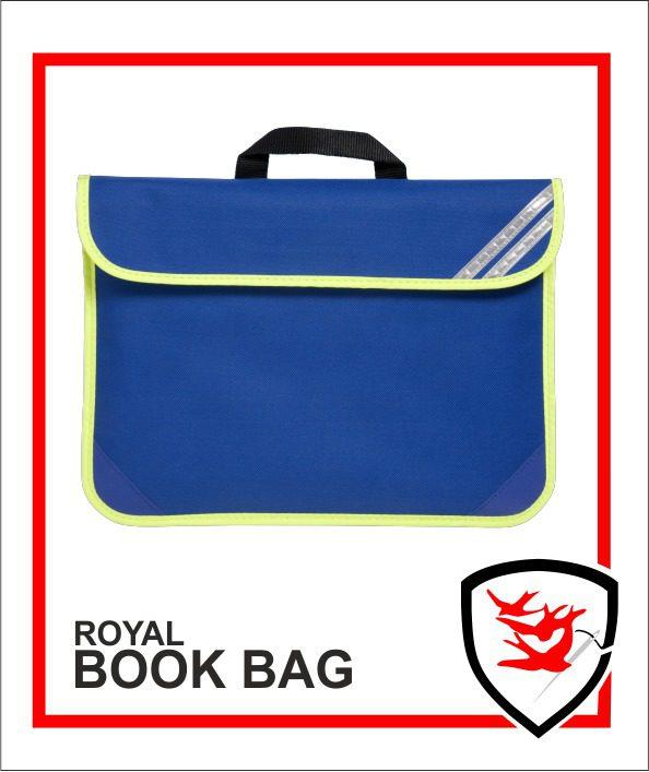 Hi Vis Book Bag Royal