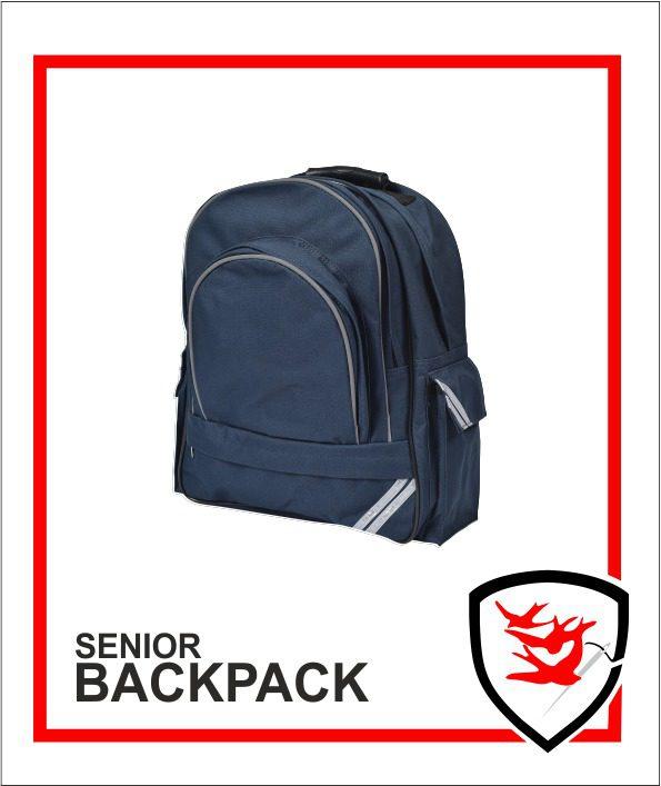 Senior Backpack Navy